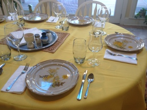Thanksgiving Dinner Table 2013