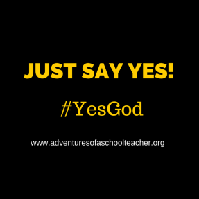 JUST SAY YES! (10)