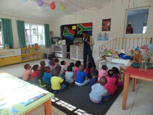 National Book Week Presentation to Little Red Dragon Preschool Learners